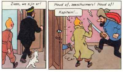 Error in Tintin (The secret of the Unicorn)