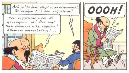 Error in Tintin (Tintin and the Picaros)